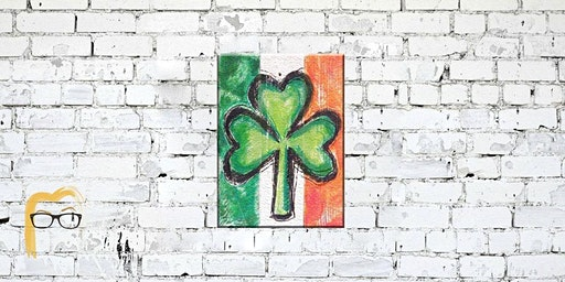 Irish Clover St. Patty's Painting on Wood - Lauren's Art Club