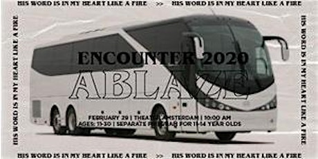 Encounter 2020 - Bustickets (to Theater Amsterdam) tickets