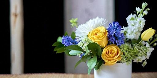 Taste of Spring: Wine & Flower Arranging