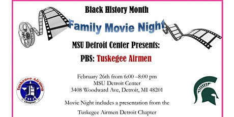 Black History Month: Family Movie Night at MSU Detroit Center tickets