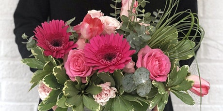 SPRING FLORAL ARRANGING CLASS - HEARTS IN BLOOM tickets