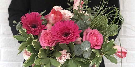 SPRING FLORAL ARRANGING CLASS - HEARTS IN BLOOM