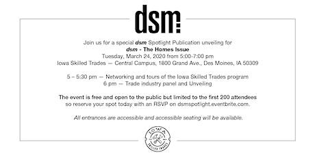 dsm spotlight issue: Home   tickets