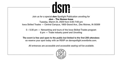 dsm spotlight issue: Home