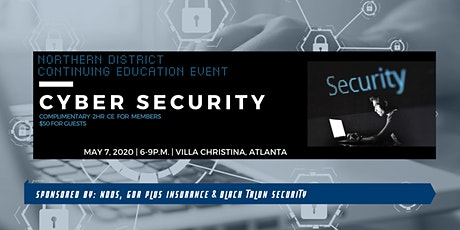 NDDS Continuing Education Event : Cyber Security tickets