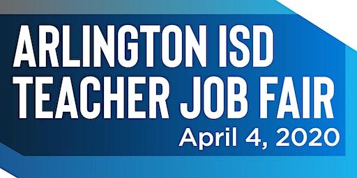Arlington ISD Teacher Job Fair