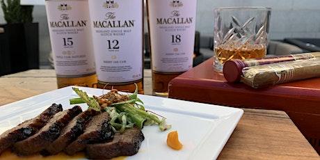 The Macallan Scotch & Japanese A5 Wagyu Steak Dinner at Dirty Habit DC tickets