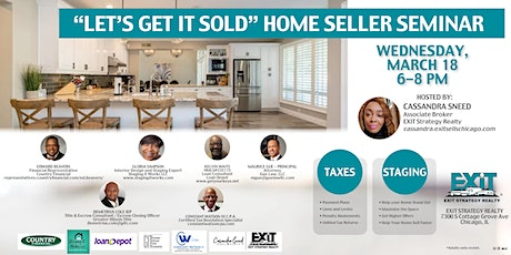 """Lets Get it Sold"" Home Seller Seminar tickets"