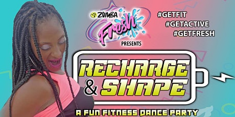 Zumba Fresh - Recharge & Shape tickets