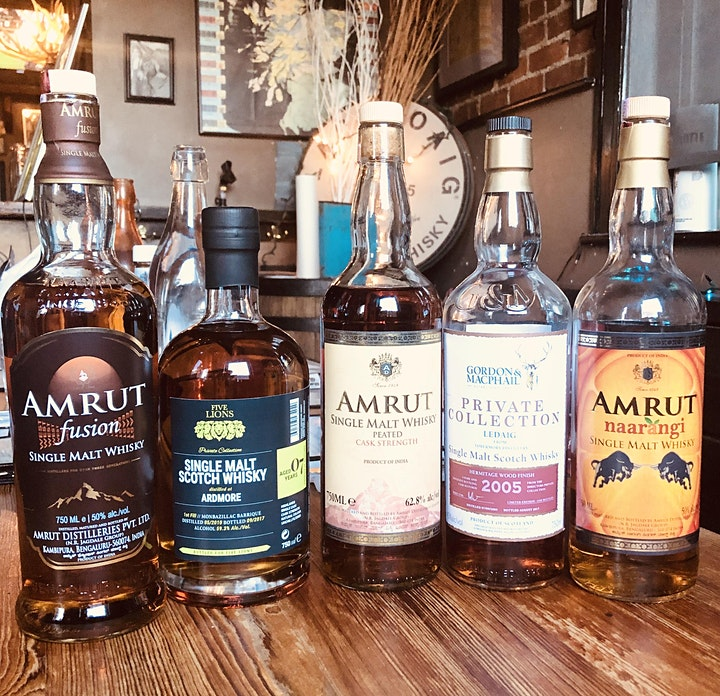 Amrut Indian Whisky Evening image