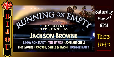 Running on Empty - A Tribute to Jackson Browne & The Laurel Canyon Sound tickets