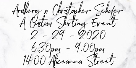 Ardbeg X Christopher Schafer Clothier – A Custom Shirting Event tickets