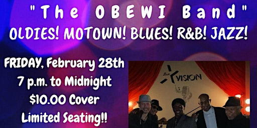 "Olde Town Conyers - Intimate Party Night w ""The OBEWI Band"" @ Star Vision"