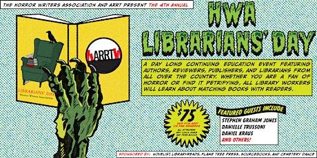 HWA Librarians' Day 2020 tickets