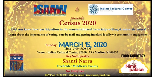 Census 2020- South Asian Persepective