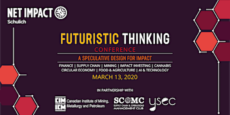 Net Impact Schulich Annual Conference: Futuristic Thinking tickets
