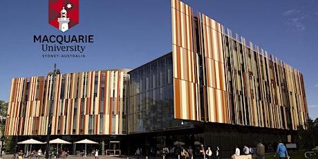 Sesión especial con Macquarie University tickets