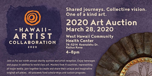 Hawaii Artist Collaboration Auction & Fundraiser