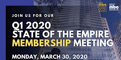 Q1 2020   Metro NY NBMBAA Chapter Membership & Open House Meeting at Citi tickets