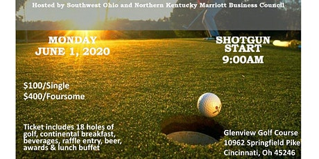 Greater Cincinnati Marriott Business Council 2020 Golf Outing tickets