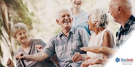 Webinaire interactif sur la prévention des abus envers les personnes aînées tickets