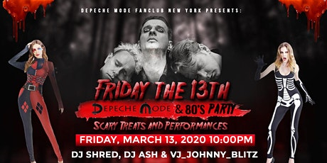 Friday the 13th - Depeche Mode & 80's Party tickets