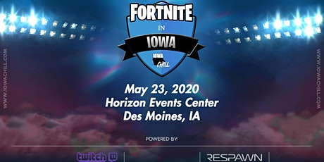 Fortnite in Iowa 2020 tickets
