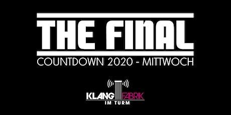 The Final Countdown - Mottowoche Mittwoch Tickets
