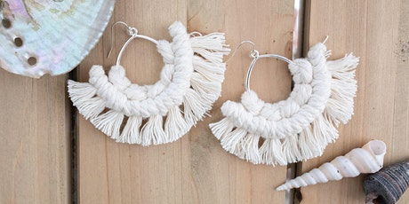 Macrame Earring Workshop at Lido Marina Village tickets