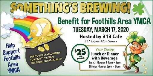 Something's Brewing! Benefit for the Foothills Area YMCA