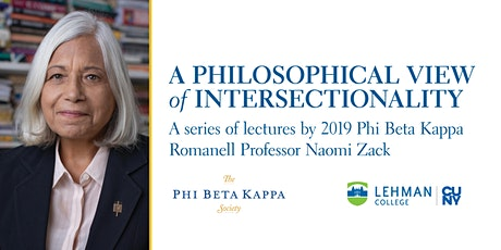 A Philosophical View of Intersectionality: Lecture Series by Naomi Zack tickets
