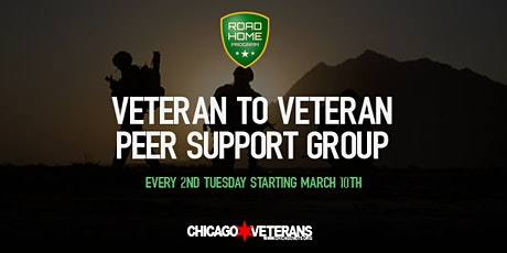 Veteran to Veteran Peer Support Group tickets