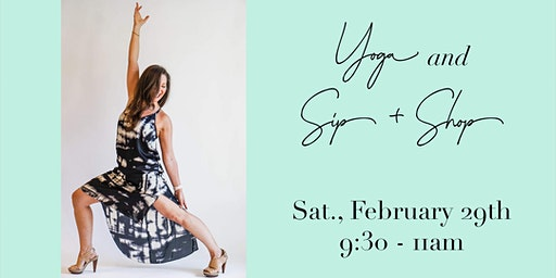 Leap Into Spring Yoga and Sip + Shop