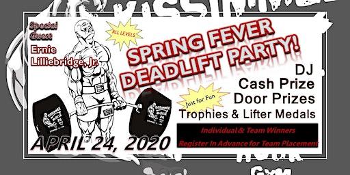 Spring Fever Deadlift Party