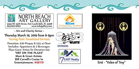 Art & Charity: Turning Point Transitional Services Benefit tickets