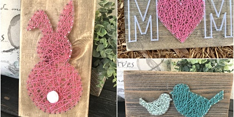 DIY Spring String Art Class tickets