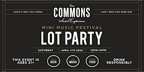 The Commons - Mini Music Festival tickets