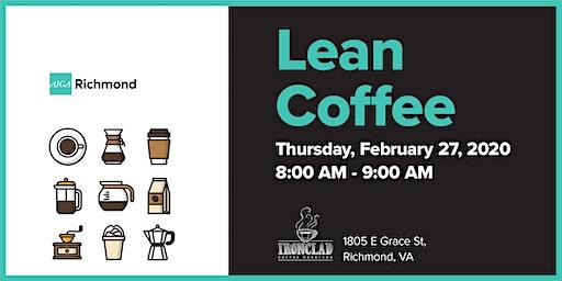 AIGA Richmond Presents Lean Coffee