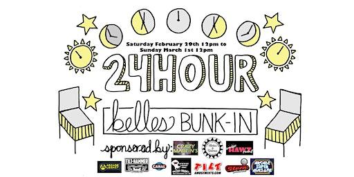 24-Hour Belles Bunk-In Pinball Tournament