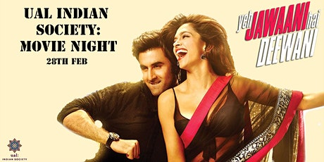 UAL Indian Society: Movie Night 2020 tickets