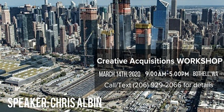 Creative Acquisitions - Chris Albin tickets