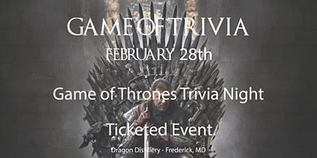 Game of Thrones Trivia! tickets