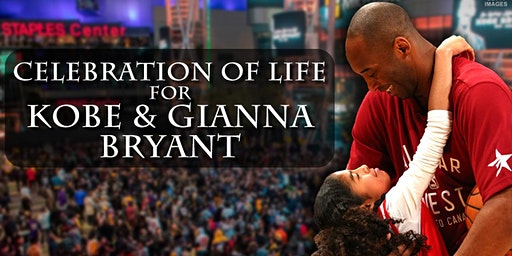 Celebration of Life for Kobe and Gianna Bryant