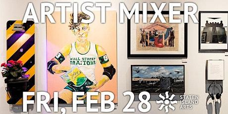 Artist Mixer | Networking Night! tickets