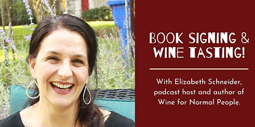 Wine for Normal People Book Signing and Tasting at Splash Wine Lounge