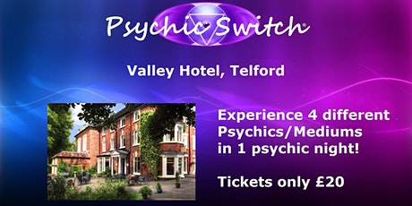 Psychic Switch - Telford tickets