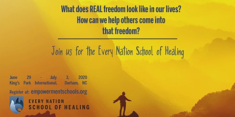 The Every Nation School of Healing, Durham, NC tickets