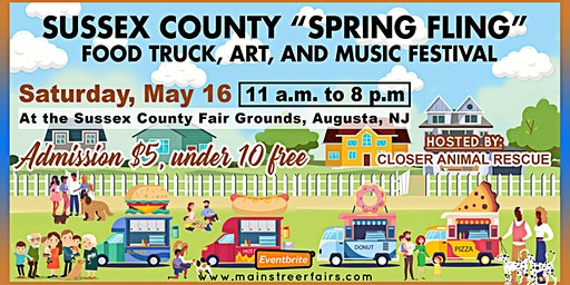 Sussex County 'Spring Fling' Food Truck, Art, and Music Festival