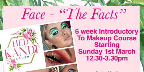 6 Week Adult Beginners Makeup course tickets