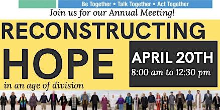 Reconstructing Hope: Arizona Faith Network's Annual